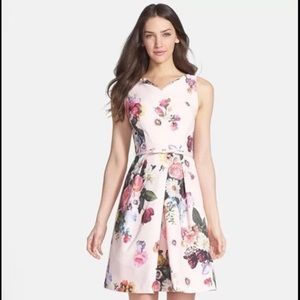 Ted Baker Floral Dress - Size 3